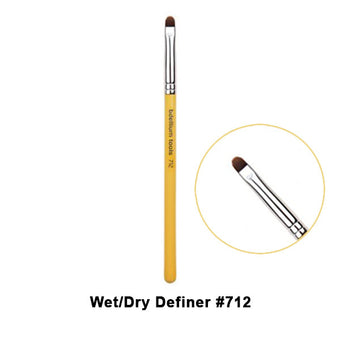 Bdellium Tools Studio Line Brushes for Eyes - 712 Wet/Dry Definer | Camera Ready Cosmetics - 6