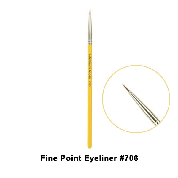Bdellium Tools Studio Line Brushes for Eyes - 706 Fine Point Eyeliner | Camera Ready Cosmetics - 2