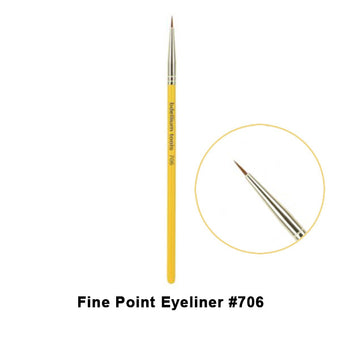 alt Bdellium Tools Studio Line Brushes for Eyes 706 Fine Point Eyeliner (Studio)