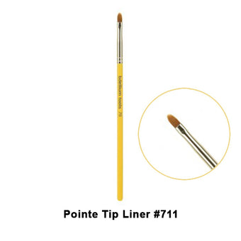 alt Bdellium Tools Studio Line Brushes for Eyes 711 Pointe Tip Liner (Studio)