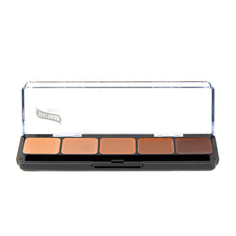 Graftobian Hi-Def Creme Foundation Palette - Cool #2 (30262) | Camera Ready Cosmetics - 3