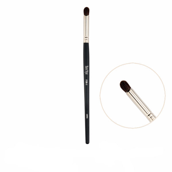 Ben Nye Fine Detail Makeup Brush - FDB-2 Medium Tapered Point Brush | Camera Ready Cosmetics - 3