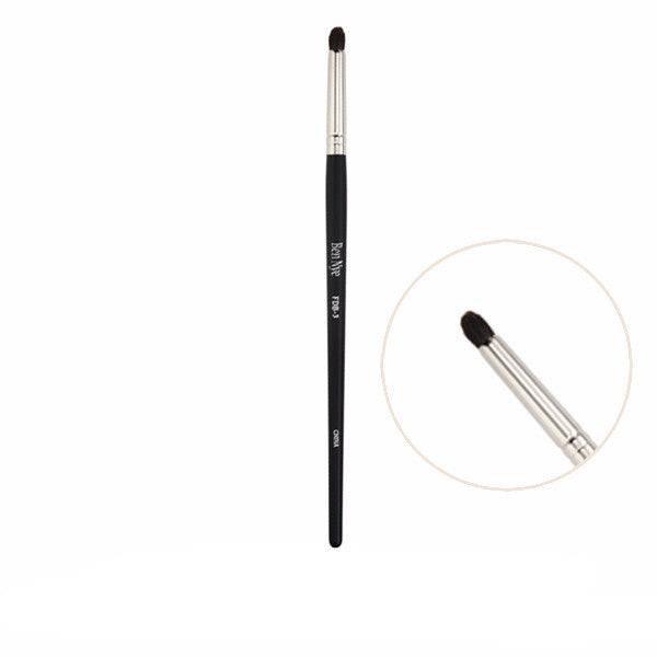 Ben Nye Fine Detail Makeup Brush - FDB-3 Small Tapered Pint Brush | Camera Ready Cosmetics - 4