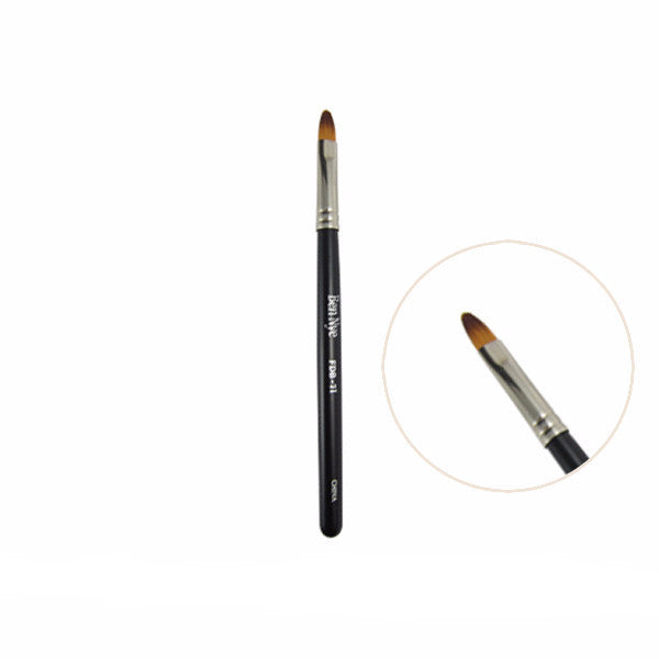 Ben Nye Fine Detail Makeup Brush - FDB-71 Compact Lip Brush | Camera Ready Cosmetics - 10