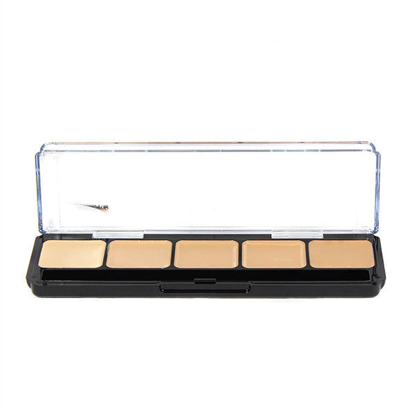 alt Graftobian Hi-Def Creme Foundation Palette Neutral #1 (30271)