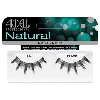 Ardell Natural 134 - Black (65009) -  | Camera Ready Cosmetics