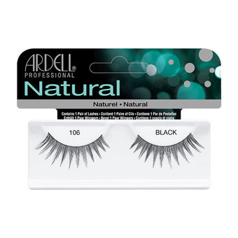 Ardell Natural 106 - Black (65086) -  | Camera Ready Cosmetics