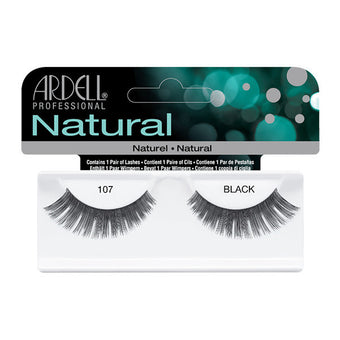 Ardell Natural 107 - Black (65087) -  | Camera Ready Cosmetics