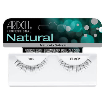 Ardell Natural 108 - Black (65088) -  | Camera Ready Cosmetics