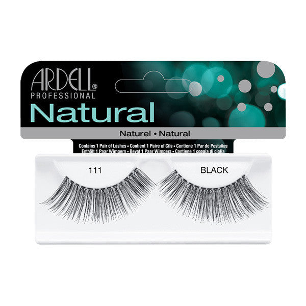 Ardell Natural 111 - Black (65089) -  | Camera Ready Cosmetics