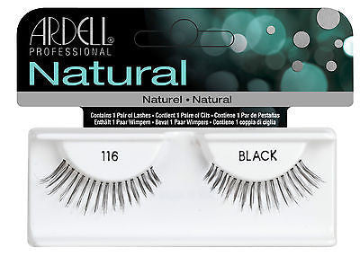 Ardell Natural 116 - Black (65090) (OOS- Not received with last order) -  | Camera Ready Cosmetics