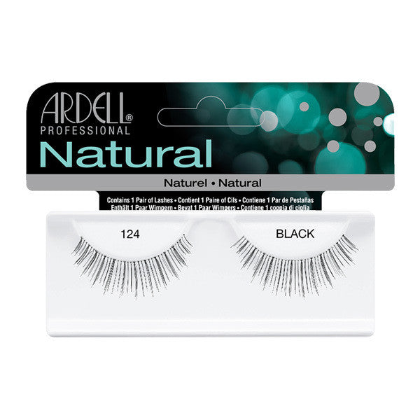 Ardell Natural 124 - Black (65093) -  | Camera Ready Cosmetics