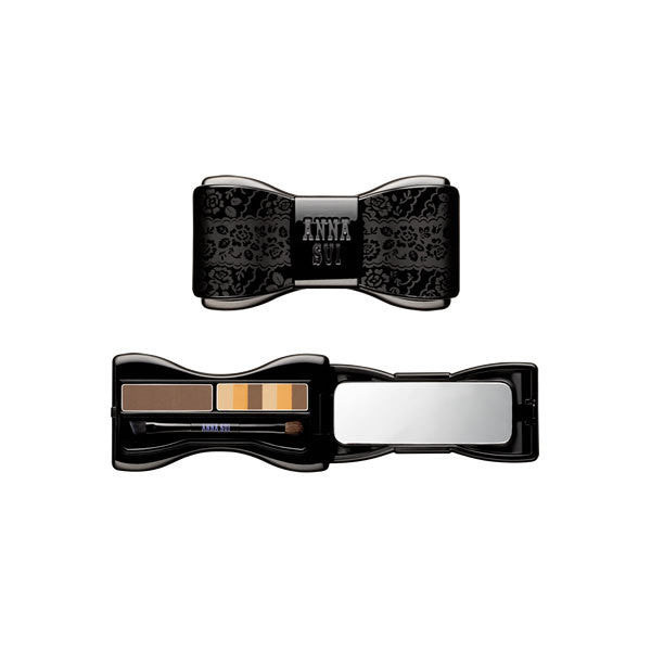 alt Anna Sui Eyebrow Color Compact 02 Yellow Brown
