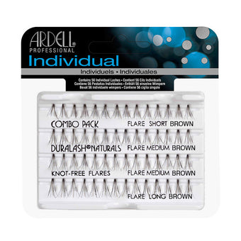 alt Ardell Individual Knot-Free Flare Lashes - Combo Brown (65064)