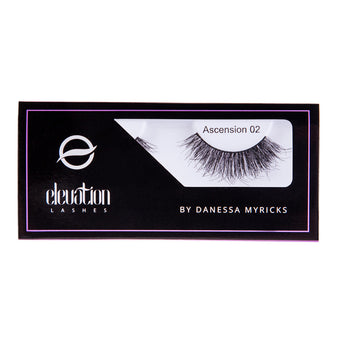 alt Danessa Myricks Elevation Ascension Lashes Ascension 02 Double Layer/Curly Pop