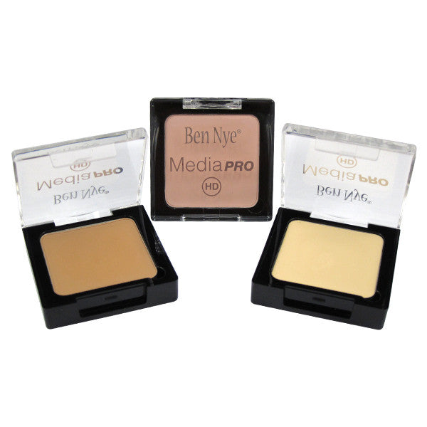 Ben Nye MediaPRO Creme Blush and Contour (Highlight) -  | Camera Ready Cosmetics - 3