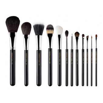 Bdellium Tools Maestro Series Complete 12pc. Brush Set -  | Camera Ready Cosmetics
