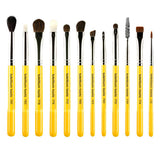 Bdellium Tools Studio Line Brushes for Eyes - 12pc. Set -  | Camera Ready Cosmetics
