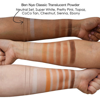 Ben Nye Classic Translucent Face Powder Neutral Set -  | Camera Ready Cosmetics - 3