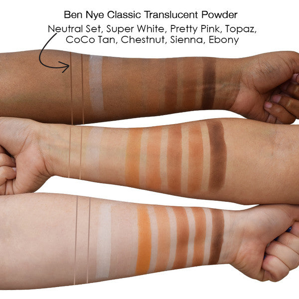 Ben Nye Classic Translucent Face Powder Chestnut -  | Camera Ready Cosmetics - 3