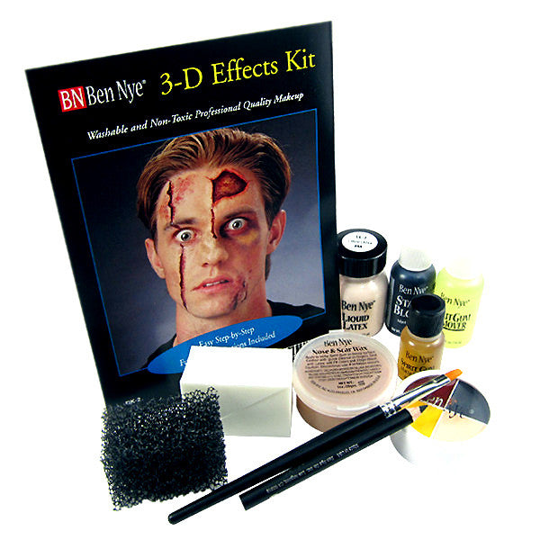 Home / Makeup Kits / Ben Nye Deluxe 3-D Special Effects Makeup Kit ...