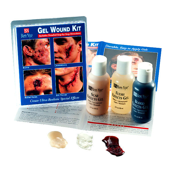alt Ben Nye Effects Gel Wound Kit (Set of 3)