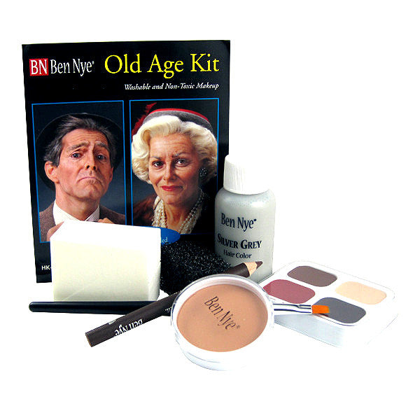 ALT - Ben Nye Old Age Makeup Kit HK-6 - Camera Ready Cosmetics