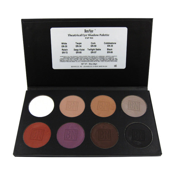 Ben Nye Theatrical Eye Shadow Palette -  | Camera Ready Cosmetics