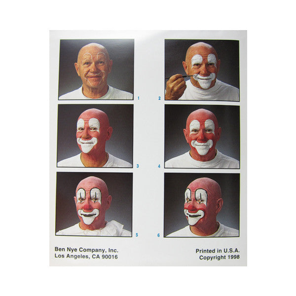 Ben Nye Auguste Clown Kit HK-21 -  | Camera Ready Cosmetics - 2