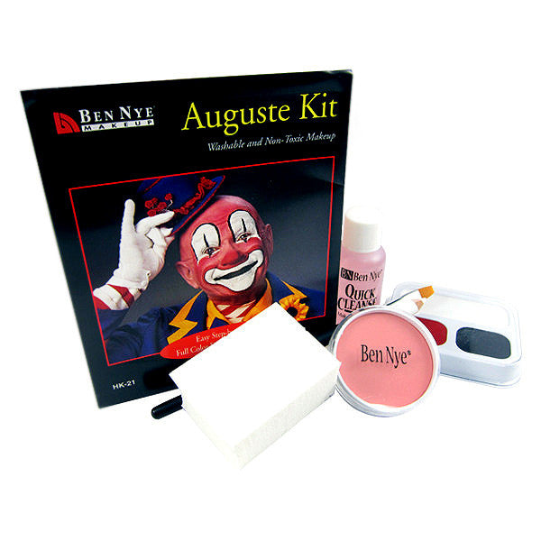 Ben Nye Auguste Clown Kit HK-21 - Camera Ready Cosmetics