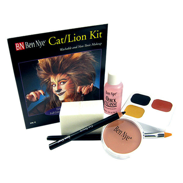Ben Nye Cat Lion Makeup Kit Camera Ready Cosmetics