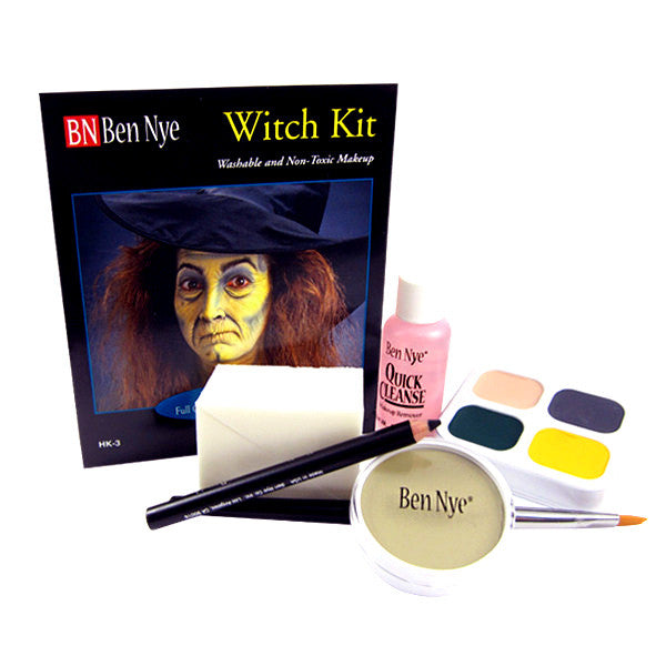 ALT - Ben Nye Witch Makeup Kit HK-3 - Camera Ready Cosmetics