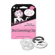 Hollywood Fashion Secrets - Bra Converting Clip (4 clips) -