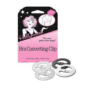 Hollywood Fashion Secrets - Bra Converting Clip (4 clips) -  | Camera Ready Cosmetics
