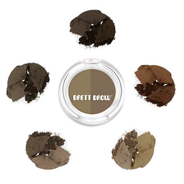 Brett Brow - Duo Shade Brow Powders -  | Camera Ready Cosmetics - 3