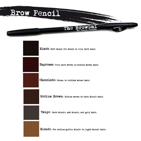 The BrowGal Skinny Eyebrow Pencil -  | Camera Ready Cosmetics - 5