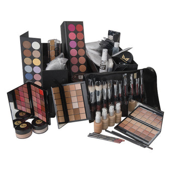 CRC Deluxe Carla Makeup Kit - Kit only - NO CASE | Camera Ready Cosmetics - 2