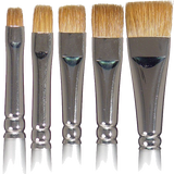 Cinema Secrets Kolinsky Flat Makeup Brush (LIMITED AVAILABILITY) -  | Camera Ready Cosmetics - 1