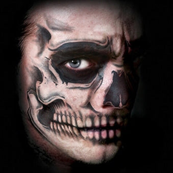 Tinsley Transfers - Costume Face Kit - Skull Face