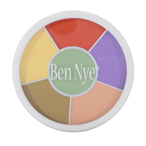 Ben Nye Corrector Wheel - 6 Colors (CTRW-100)  | Camera Ready Cosmetics