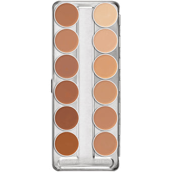 Kryolan Dermacolor Camouflage Creme Palette 12 Colors - (C)  | Camera Ready Cosmetics