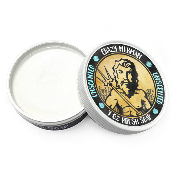 Crazy Merman - Brush Soap Unscented -  | Camera Ready Cosmetics