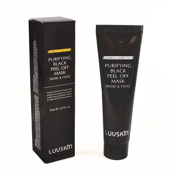 LuvSkin Purifying Charcoal Black Peel Off Mask