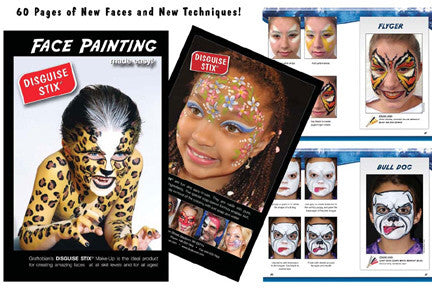 Graftobian Disguise Stix Face Painting Starter Set with Book -  | Camera Ready Cosmetics - 2