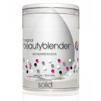 Beautyblender® pure WHITE + blendercleanser® mini solid kit  | Camera Ready Cosmetics