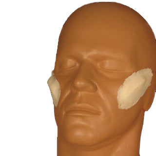 alt Rubber Wear Angular Cheekbones Foam Latex Prosthetic
