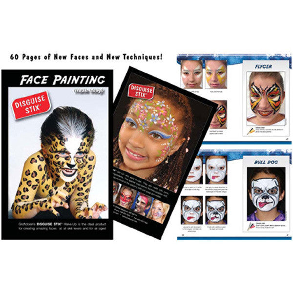 Graftobian Disguise Stix Face Painting Book -  | Camera Ready Cosmetics