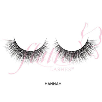 alt Flutter Mink Natural Lashes Hannah