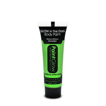 alt PaintGlow Glow in the Dark Face & Body Paint 13ml Green (AC1A02)