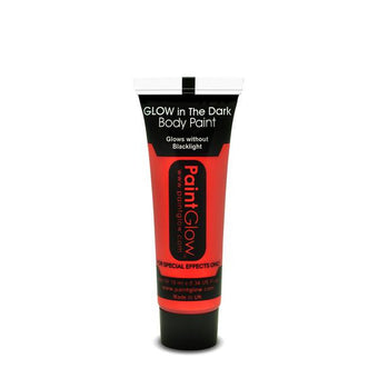 alt PaintGlow Glow in the Dark Face & Body Paint 13ml Red (AC1A06)